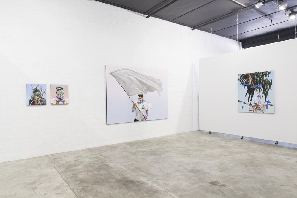 Installation view by Juan Ford